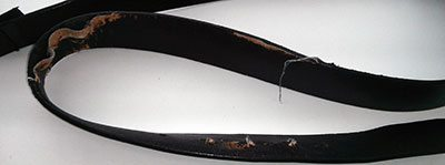 BioThane Super Belt Hall of Shame Chinese Leather Dress Belt 3