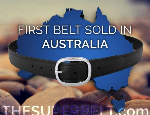 First Super Belt sold in Australia : Australian Men need an Indestructible and Lifetime Belt