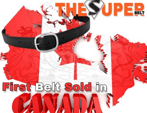 First Super Belt sold in Canada! Canadian Men need Durable Belts that Last Forever!