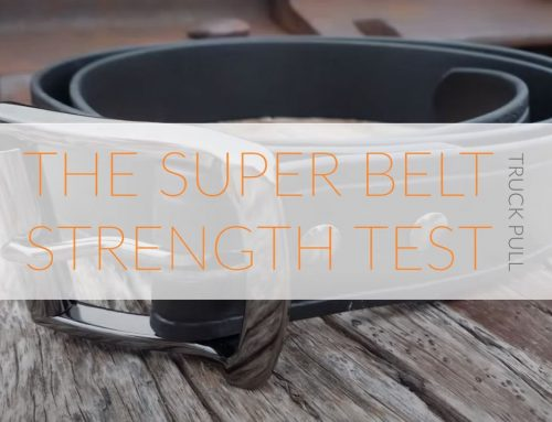 The Invincible Super Belt Strength Test : Truck Pull