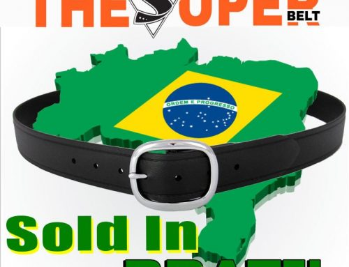 First Super Belt sold in Brazil! Brazilian Men need Lifetime Lasting Belts!