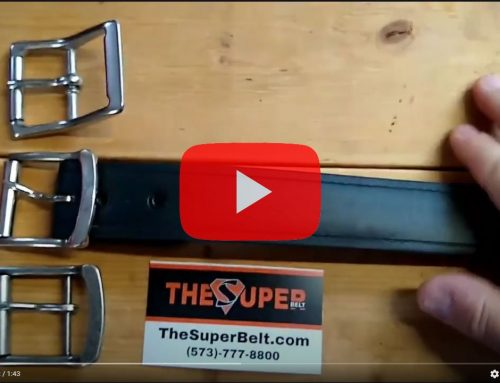 5 Year Old Super Belt still looks New!