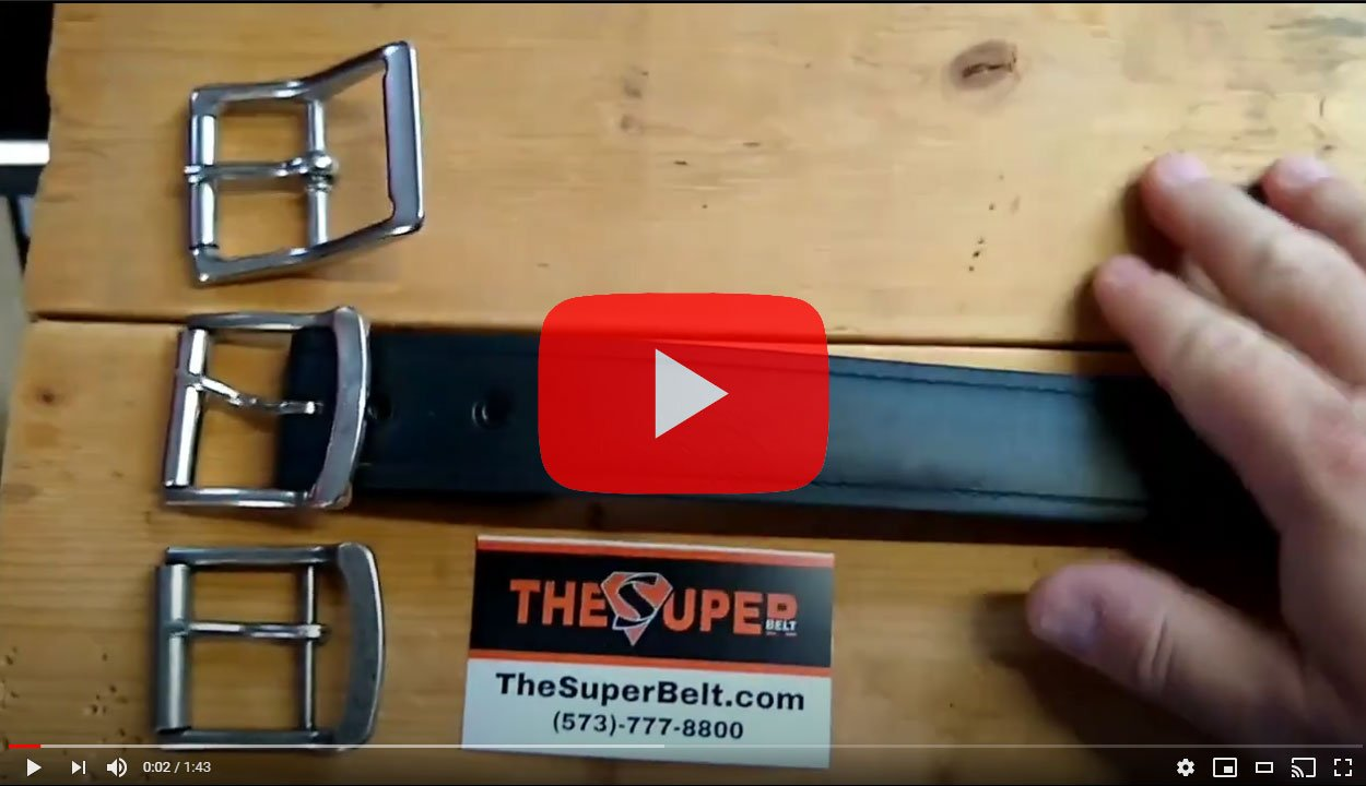 Five Year Old Super Belt Still Looks Brand New Holes not Stretched Invincible Indestructible Material Lifetime Warranty