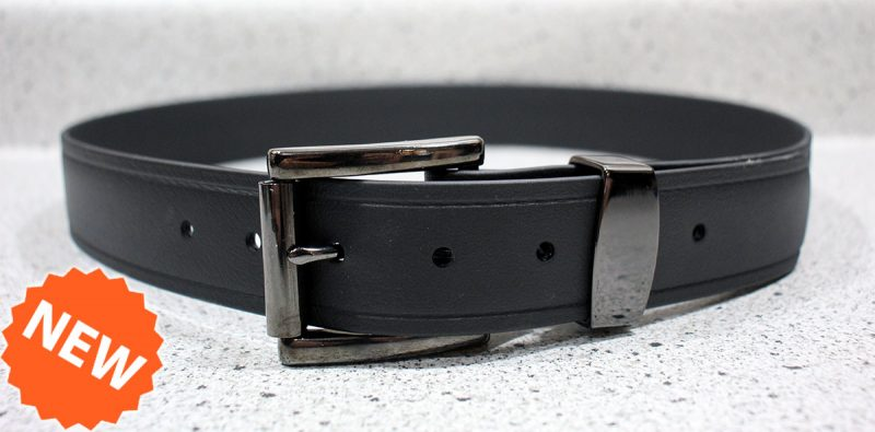 Gunmetal Gray Steel Single Bar Roller Buckle Monti with Keeper Incredibly Strong The Invincible Mans Super Belt Last Forever Made in America