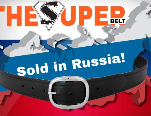 First Super Belt sold in Russia! Russian Men need Indestructible Belts!