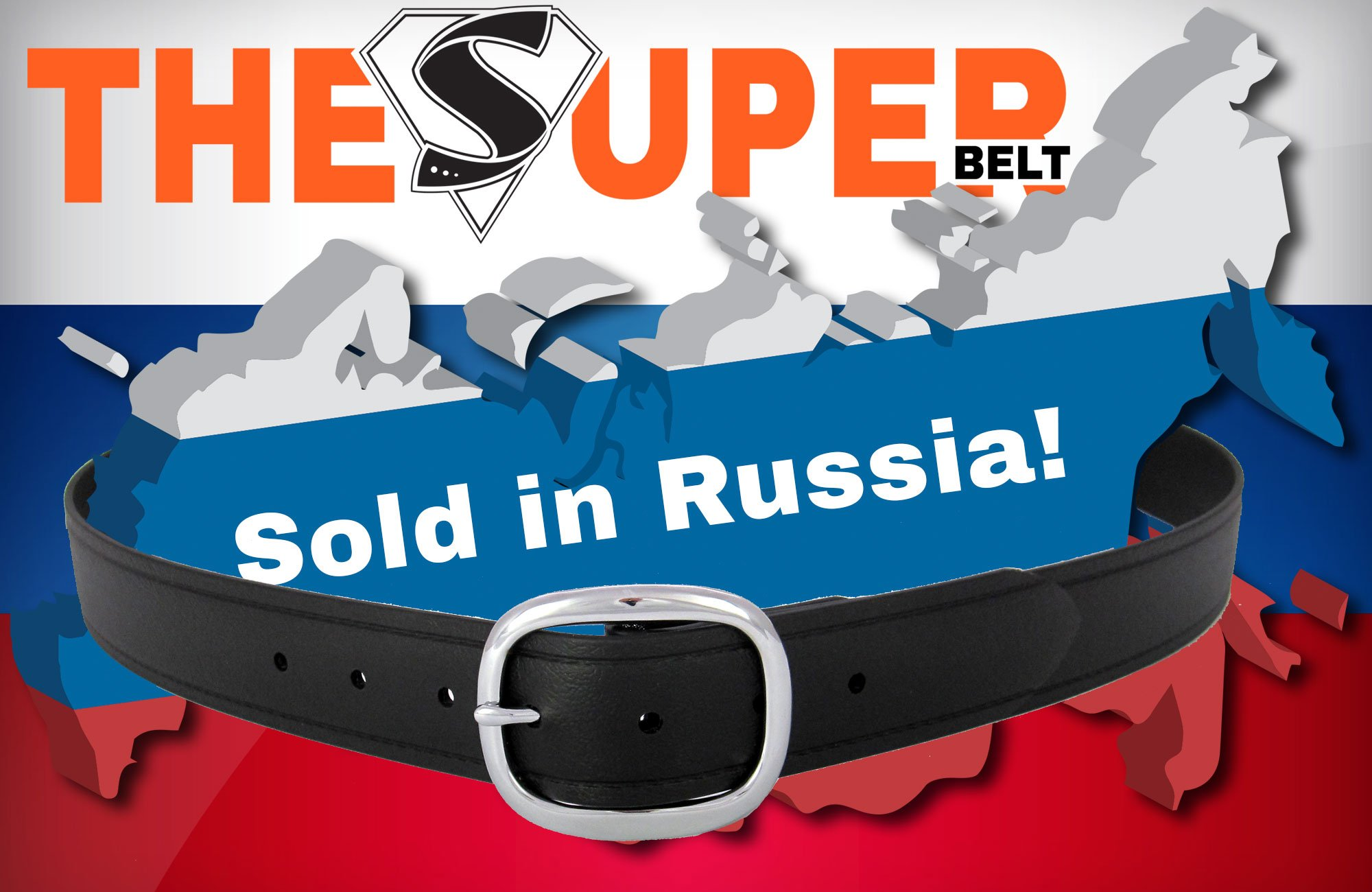 The Super Belt just Sold for the First Time in Russia (Moscow) Indestructible and Invincible Lifetime Warranty Belt Made in America to Last Forever Leather Nylon