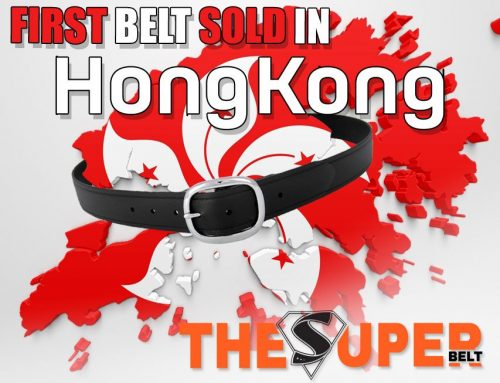 First Super Belt sold in Hong Kong! Hong Kongers need a Belt that Won't Break
