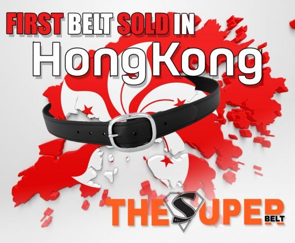 The First Super Belt was Sold in Hong Kong China Belt for Men that wont break with a Lifetime Warranty Leather and Nylon Suck