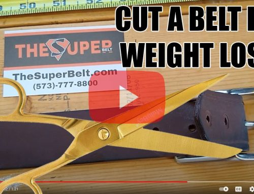 We Shortened this Super Belt for FREE after the Customer Lost 70 Pounds!