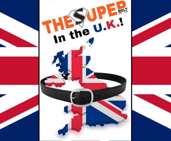 The Super Belt has been Sold in the United Kingdom UK London England Indestructible Belts Men Women Strongest Best Leather Sucks Nylon Antimicrobial